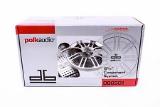 "POLK AUDIO DB6501 CAR STEREO 6.5""DB SERIES COMPONENT SPEAKERS SYSTEM SET 6-1 /2"""