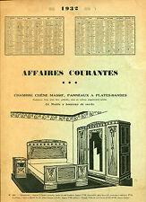 █► Französische Art Deco Alter Möbelkatalog 1930er Jahre ORIGINAL! (4)