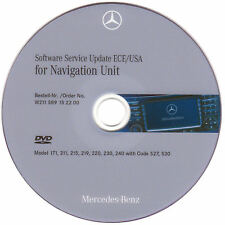 Mercedes NTG1 Navigation Service Update ECE/USA