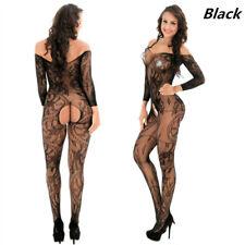 Sexy Lingerie Fishnet Body stockings Dress Underwear Babydoll Sleepwear YF8810B