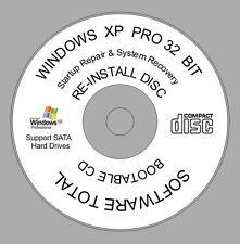 Windows XP Professional 32 bit SP3 CD