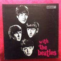 The Beatles WITH THE BEATLES Aussie LP PCSO 3045 vinile AUSTRALIA 1978 rare