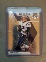 2020 NFL Panini Mosaic Tom Brady MVP Patriots #298