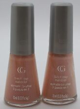2PK CoverGirl 3-in-1 step Nail Color Q035 ROSE PETALS 10mL