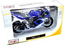 Maisto Yamaha YZF-R1 Motorcycle Bike 1:12 Diecast Blue 31102