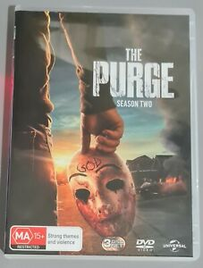 The Purge DVD Season 2 like new watched once only PAL R4