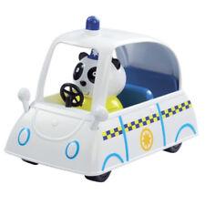 Nuevo Peppa Pig Pc Panda Policía Coche Vehículo Set Con Figura