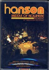 New ~ Hanson Middle of Nowhere Acoustic 10th Anniversary Recording Dvd Cd Set