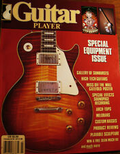 GUITAR PLAYER MAGAZINE MARCH 1985 SPECIAL EQUIPMENT MELOBAR SUNBURSTS POSTER