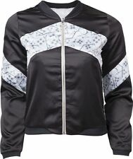 Women's Striped Polyester Basic Jackets