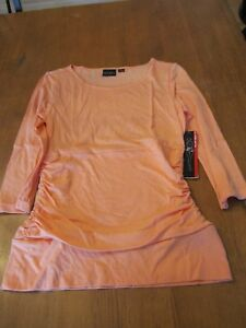 Womens Tribal LS Golf Shirt, NWT, S