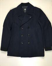 G-star Raw traction wool peacoat coat uniform freedom men's trehcn size XL