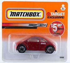 Matchbox Volkswagen VW Concept 1 Beetle Sparkle Red Target Exclusive 2000