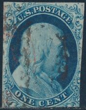 #9 FINE USED POS.8R1L RARE POSITION (LOOKS LIKE #5A) WITH PF CERT BS6462