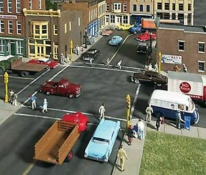 WALTHERS CORNERSTONE HO SCALE STREET SYSTEM ASPHALT SET KIT 933-3194