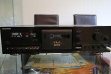 Sony 3 cabeza plataforma cinta cassette estéreo TC-K511S