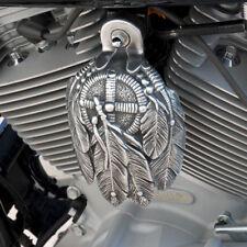 Polished Aluminum Medicine Bundle Horn Cover - Harley Davidson - MBA-1