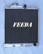 3ROW Aluminum Radiator for 1992-2000 Honda Civic  Del Sol Manual Inlet 32mm