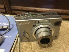 *Sony Cyber-shot DSC-W5 5.1MP Digital Camera Battery MPEG Movie*