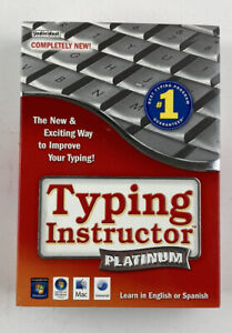 Typing Instructor Platinum Version 21 Learn In English Or Spanish 2CD WIN & MAC