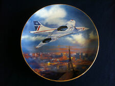 """Westminster Supersonic Skylines """"Supersonic Paris """"Concord plate (rough rim)"""