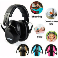Foldable Noise Reduction Ear Muffs Shooting Safety Kids Adult Hearing Protection