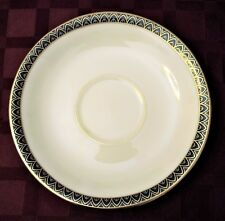 Lenox PATRIOT Gold Verge Saucer  for Footed Cup  ~ Exc Condition ~ 6 Available