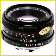 Obiettivo Yashica ML 50mm f2 per fotocamere reflex Contax/Yashica