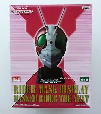 Masked Kamen Rider The Next No.3 V3 Head Helmet Mask Display 1/2 Scale BANPRESTO