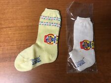 Vintage Dolsox Doll Socks Will Fit Most 26-28 Dolls with tags