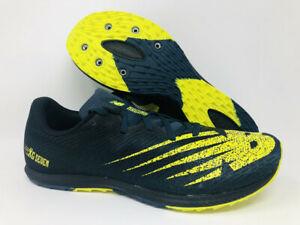 New Balance Men's 7v2 Running Shoe, Supercell/Sulphur Yellow, 8 D US