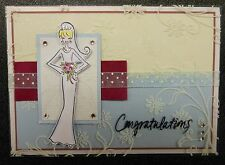 Bride Mimi Rubber Stamp - Wood mounted