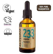 Naissance aceite de jojoba dorada 50ml - humecta y equilibra la piel