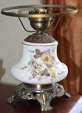 VINTAGE GONE WITH THE WIND HURRICANE LAMP BASE c.1967 HAND PAINTED ACCENTS