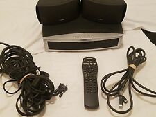 Bose 321 GS 3-2-1 Series II DVD Theater no subwoofer