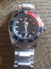 Mens Seiko Kinetic Pepsi Professional Divers Watch 5M43-0A40 - 200m