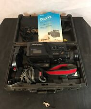 Sony CCD-V5 1987 Vintage Camcorder w/ Complete Set Includes All Pictured