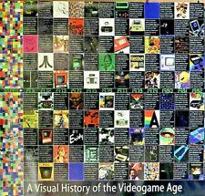 Retro VIDEOGAME Timeline Art Print~GAMER ORIGIN Story POSTER~Tech VTG History