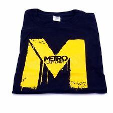 T-Shirt Metro Last Light Videospiel Motiv - 100% Baumwolle - Größe L