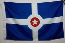 3'X5' Flag Banner USA Indiana Indianapolis city Brass grommets 90*150cm