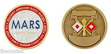 MARS LOGO MILITARY AFFILIATE RADIO SYSTEM CHALLENGE COIN