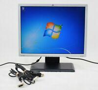 """HP LP2065 20"""" LCD Monitor VGA Grade B"""