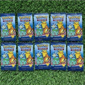 10x Original Mcdonalds Pokémon Card Packs - 25th Anniversary - 4 cards per pack