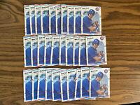 (30) Mark Grace 1988 Fleer Update Rookie Card Lot Chicago Cubs #U77