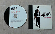 "CD AUDIO MUSIQUE / PAOLO NUTINI ""LAST REQUEST"" 2T 2006 CDS CARDBOARD SLEEVE TBE"