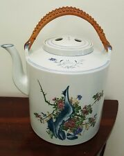 Large Chinese Water Carrier / Teapot - Hand painted / Signed