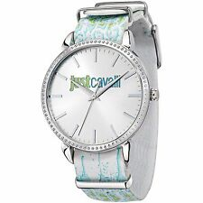 Just Cavalli Orologio Watch Woman Uhr Donna Just All Night R7251528506 Pelle New