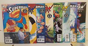 SUPERMAN #650#651#652#653 ACTION COMICS #837#838#839#840 UP, UP AND AWAY ARC.