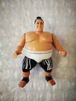WWF/WWE Hasbro Yokozuna RARE White  Series 11 original Wrestling Action Figure