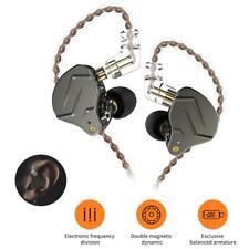 KZ ZSN Pro Metal Earphones 1BA+1DD Hybrid In Ear Headset (Grey)(No Mic) NI5L
